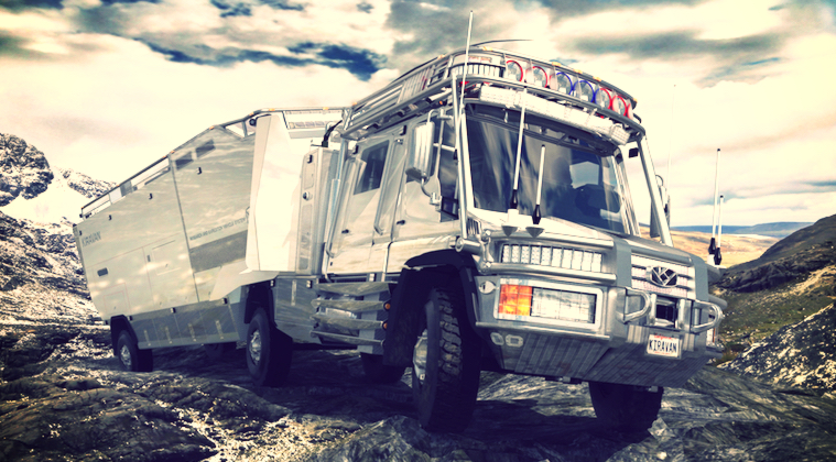 «Glamping»: Campers y Caravanas para Campistas de lujo