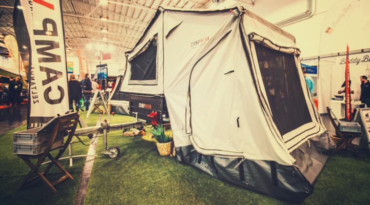 Campwerk: casas de campaña rodantes para aventureros todoterreno