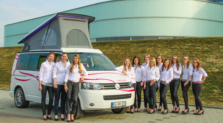 Hymer LadyCamper Team