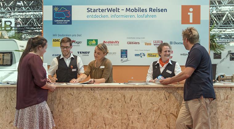 Los principiantes son bien recibidos en el Duesseldorf Caravan Salon 2015