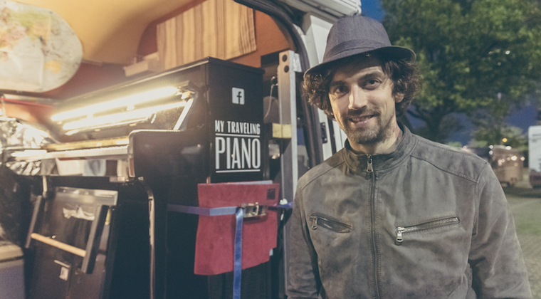 Joe Lohrmann: el pianista en furgoneta