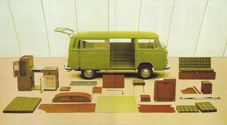La Publicidad Más Creativa Del VW Bus – Parte 3: El ¡VW Bus Westfalia!