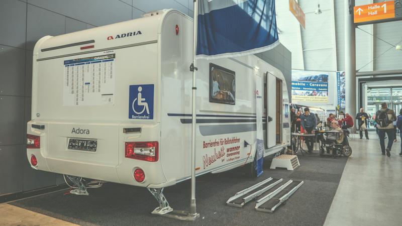 Caravana Especial Para Campistas Con Discapacidad Motora