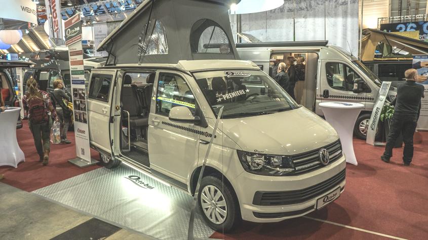 Premier en la CMT 2016: El «Octo-Bus» de Fischer Wohnmobile