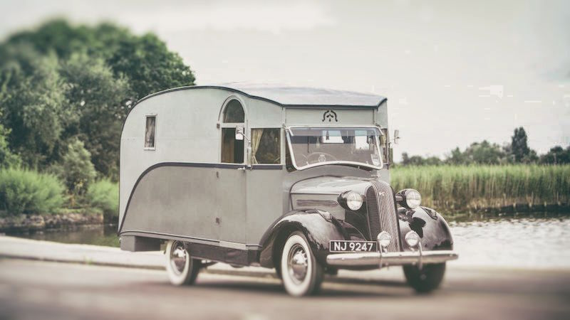 La primer autocaravana hecha en Inglaterra ya fue subastada