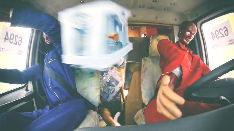 ¿Porque fijar la carga en la cabina?… este vídeo te lo muestra de una manera contundente