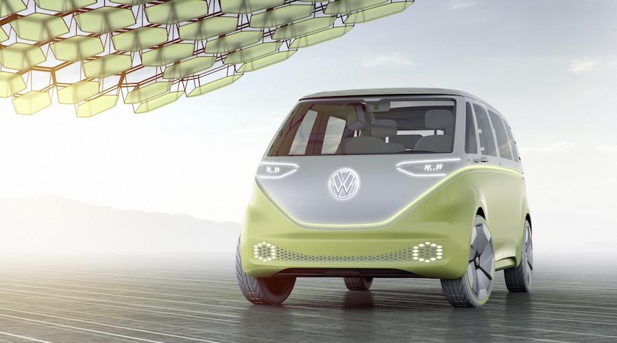 El Famoso Microbús Se Vuelve Eléctrico: El Concepto VW I.D BUZZ Ya Es Oficial