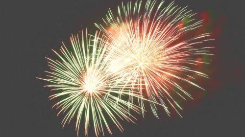 Feuerwerk Happy New Year 2016